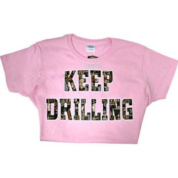 Oilfield camo keep drilling t shirt yelp T shirt outlet bakersfield ca