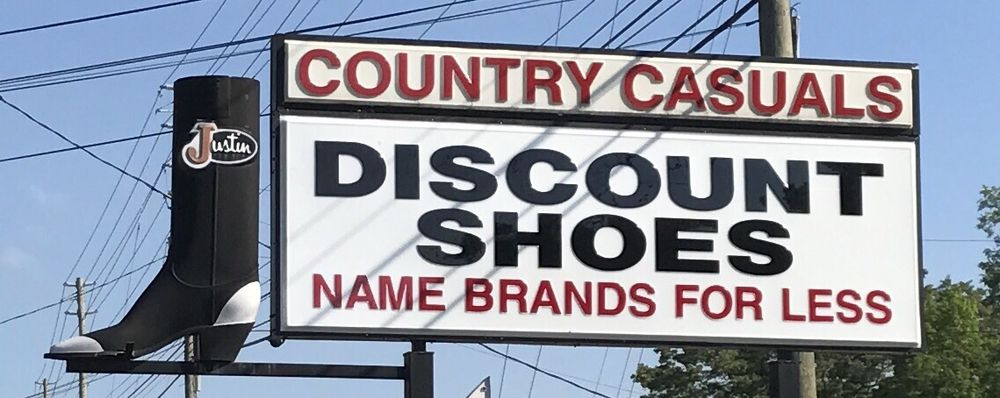 Discount Shoes: 1266 Brevard Rd, Asheville, NC
