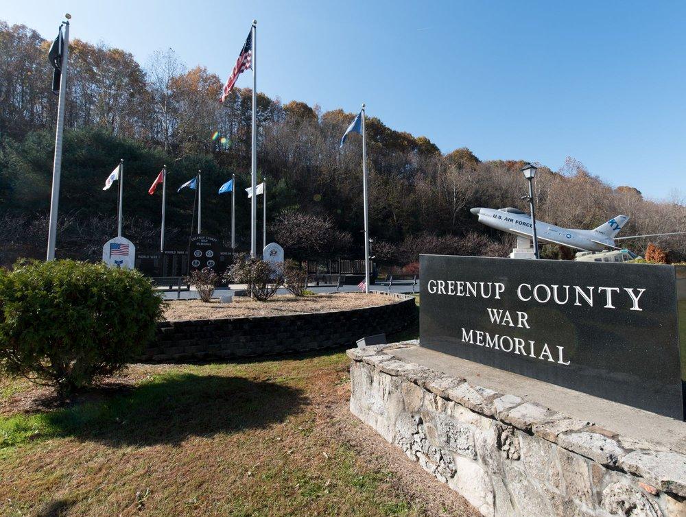 Greenup County War Memorial: Old Us 23 Loop No 2 Rd, Greenup, KY