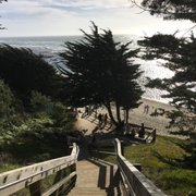 Walk To Photo Of Seal Cove Beach Moss Ca United States