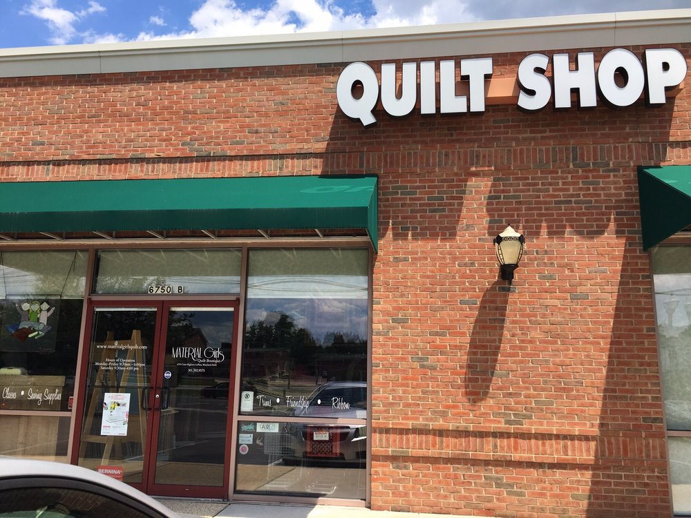 Material Girls Quilt Boutique: 6750 Crain Hwy, La Plata, MD