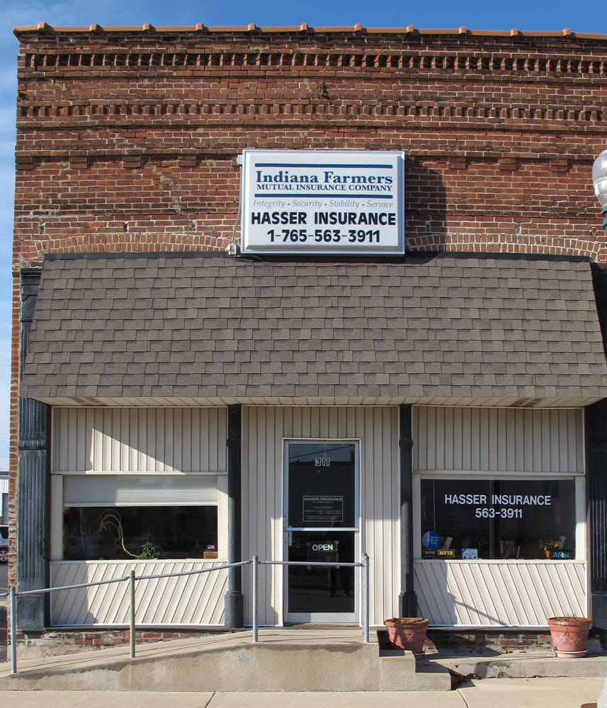 Hasser Insurance: 311 S Railroad St, Brookston, IN