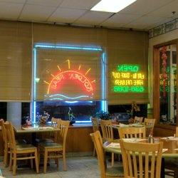 Photo Of Golden Seas Restaurant Marlboro Nj United States Seating Area At