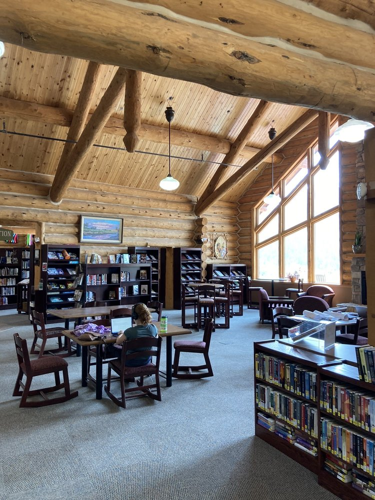 Hot Springs Library: 1543 Baltimore Ave, Hot Springs, SD