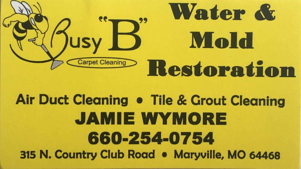 Busy B Carpet Cleaning: 101 E 16th St, Maryville, MO