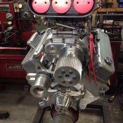 complete automotive engine rebuilding and parts machining