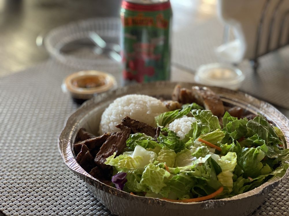 Food from Makai Pacific Island Grill