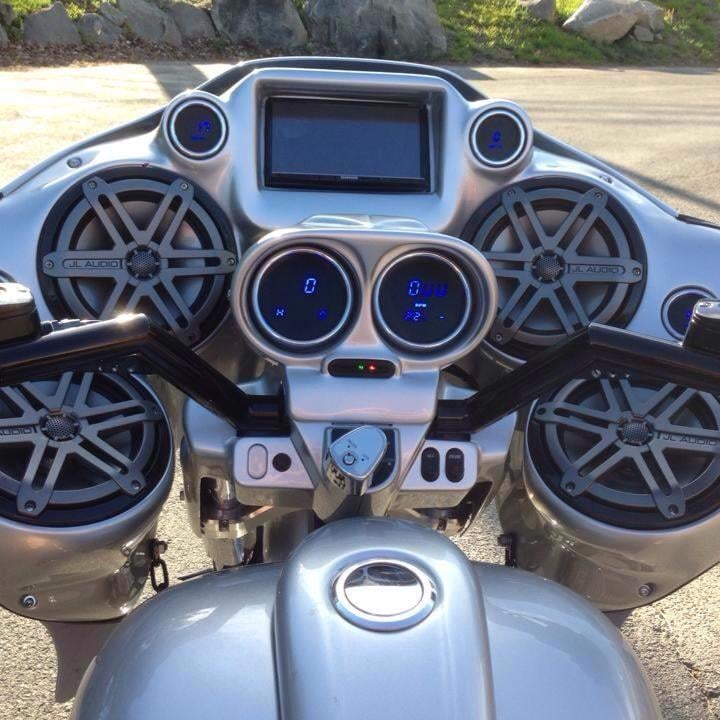 Wicked Cas Roadglide Inner Fairing Double Din 4 X 7 7 Quot Jl