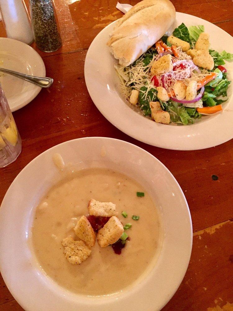 My Potato Soup And Sister S Salad Yelp