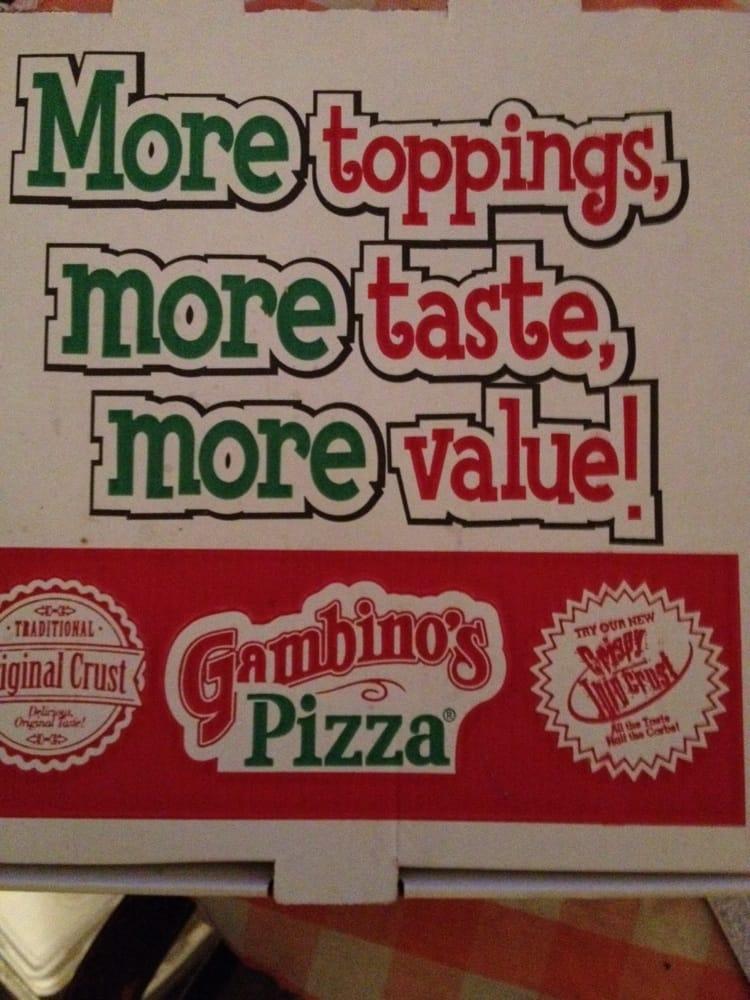 Gambino's Pizza: 102 N Broadway Ave, Sterling, KS