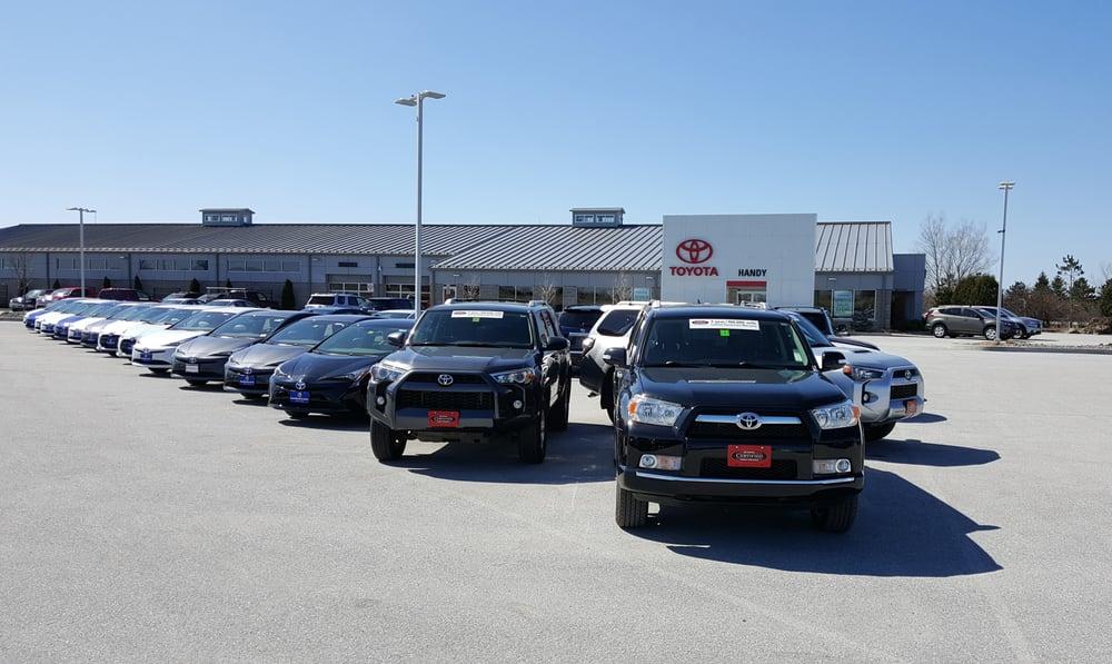 Handy Toyota Bilforhandlere 701 Highgate Rd St