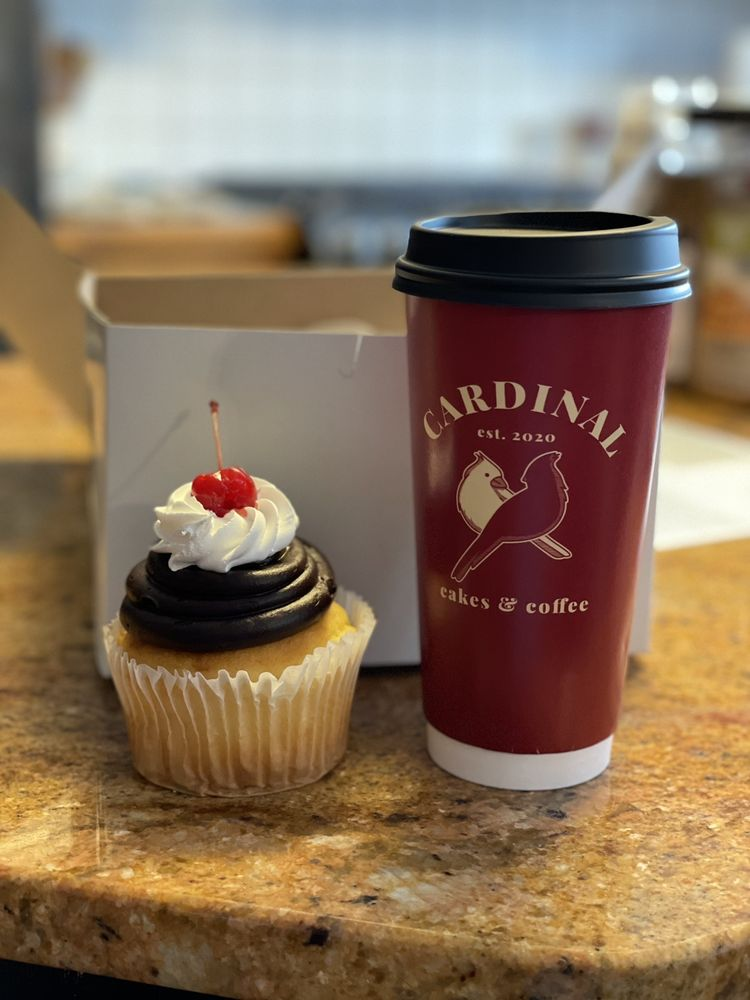 Cardinal Cakes & Coffee: 1265 S Cleveland Massillon Rd, Copley, OH