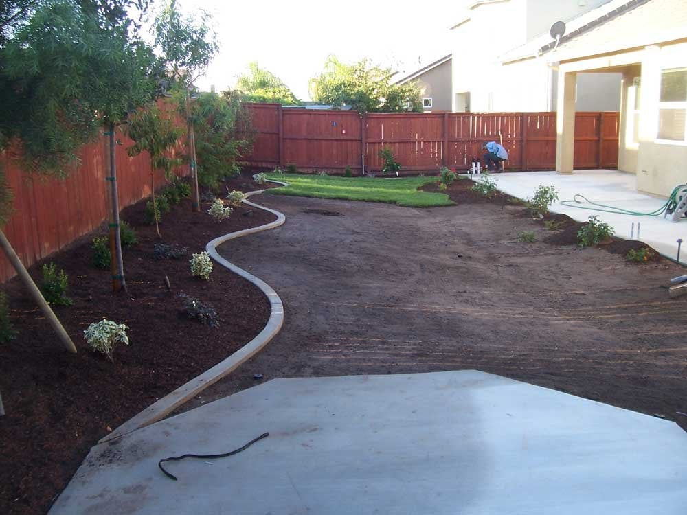 Photo Of Anderson Landscaping Fresno Ca United States Project In Progress