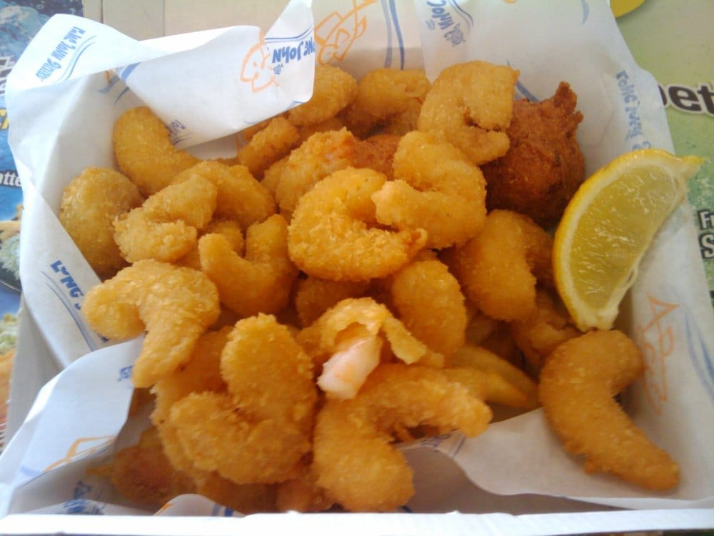 Popcorn shrimp yelp for Long john silver s fish and chips