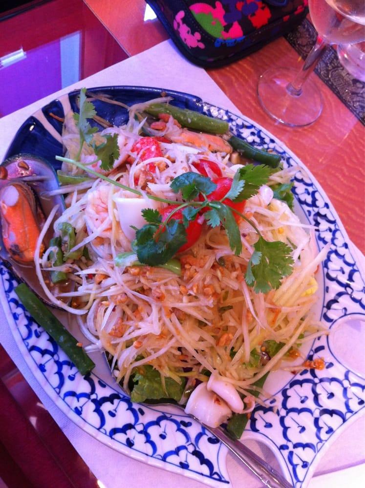 President thai restaurant coupon