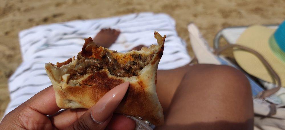 Empanada Lady: Condado Beach, Condado, PR