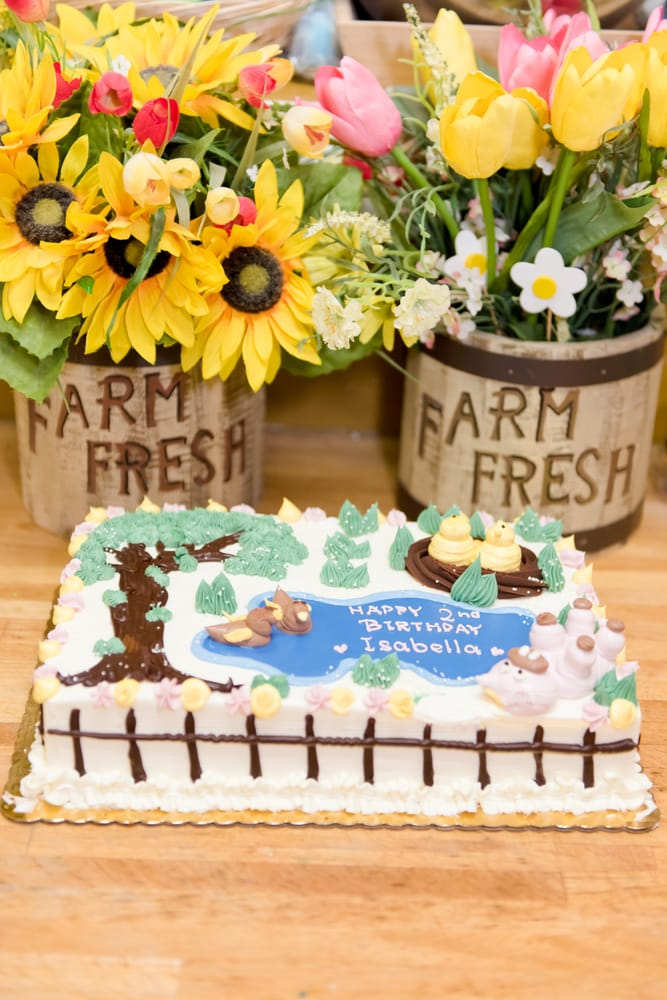 Farm Themed Birthday Cake Yelp