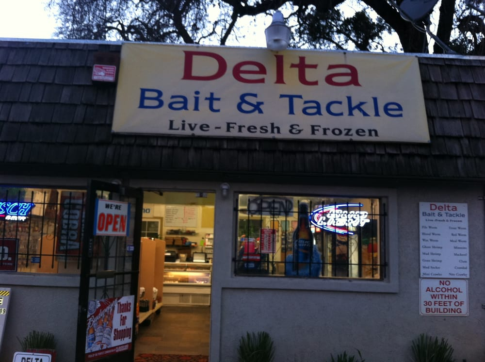 Delta bait tackle outdoor gear 8140 freeport blvd for Fishing bait stores near me