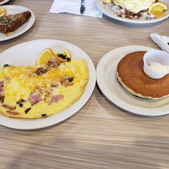 Photo Of Stacks Pancake House Irvine Ca United States Meat Lover Omelette