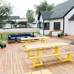Photo Of Firewater Public House   Saratoga, WY, United States. Casual  Outdoor Seating