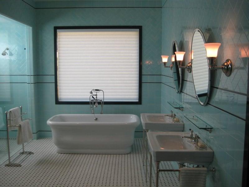 Beautiful Floor To Ceiling Bathroom Tile Job In Del Mar Ca