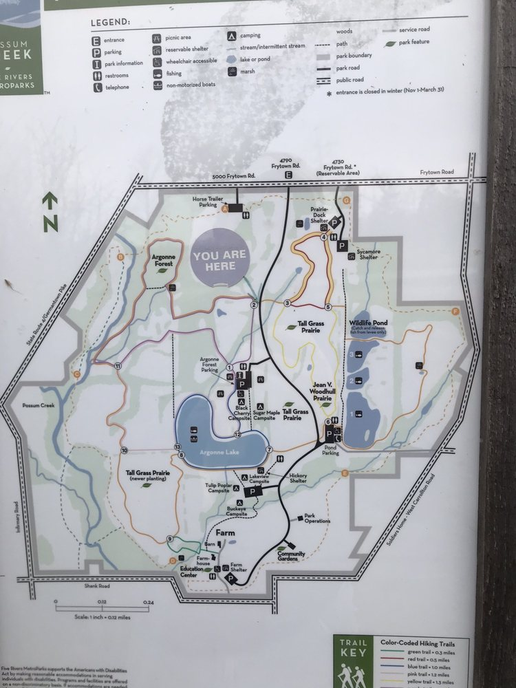 Possum Creek Metropark: 4790 Frytown Rd, Dayton, OH