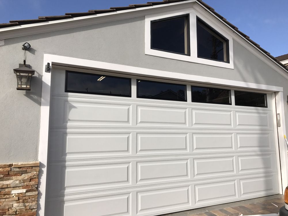 Photo Of Tonyu0027s Garage Doors   Torrance, CA, United States. White Door With