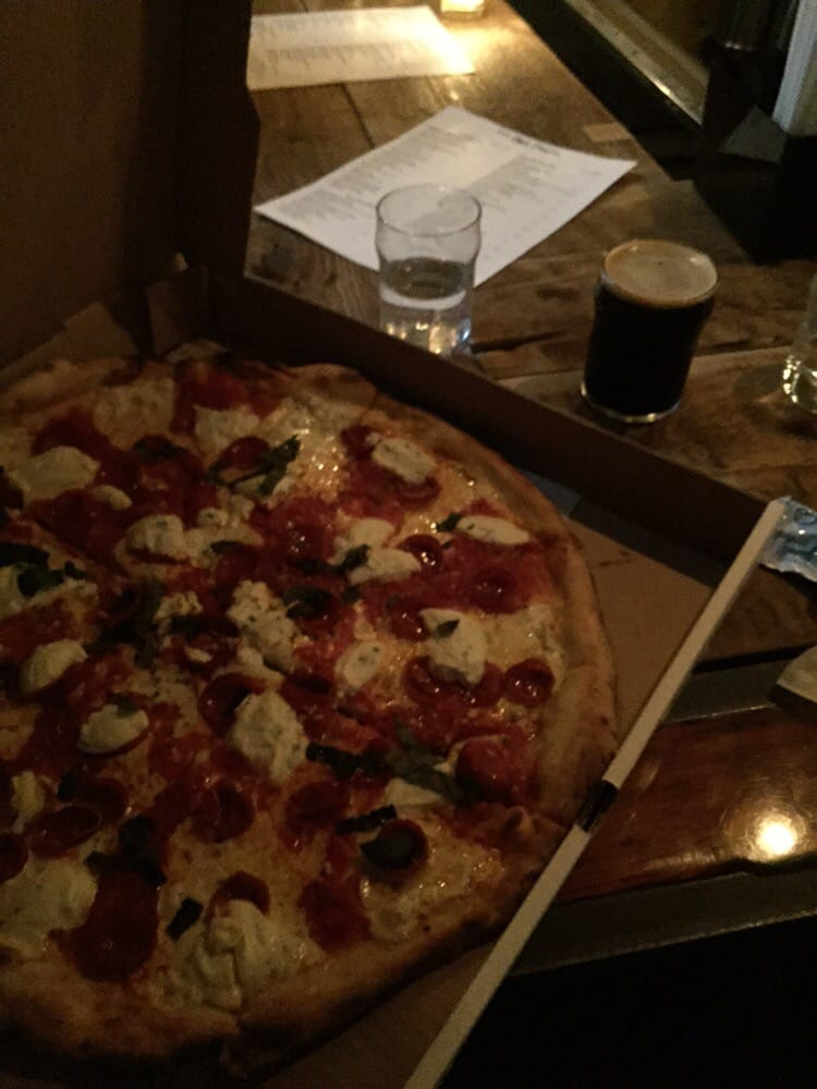 Peppino S Pizza: Perfect Take Out And Base For Night At Owl Farm.