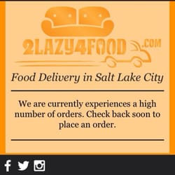 2lazy4food Closed Food Delivery Services State St City Of