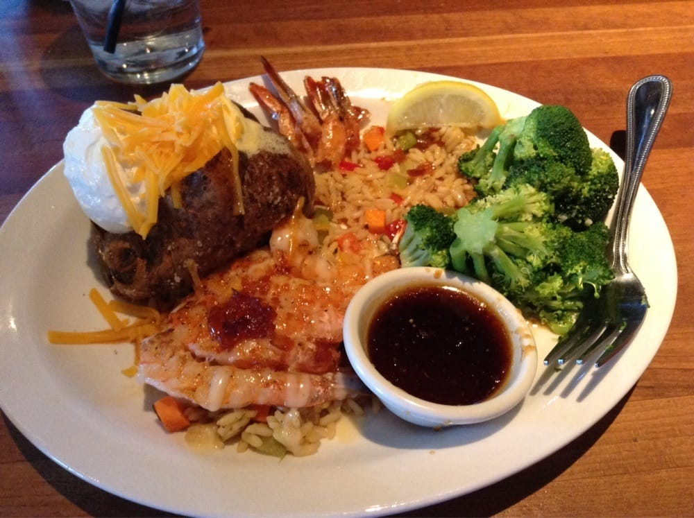 Bourbon glazed grilled shrimp yelp for Fish daddy s menu