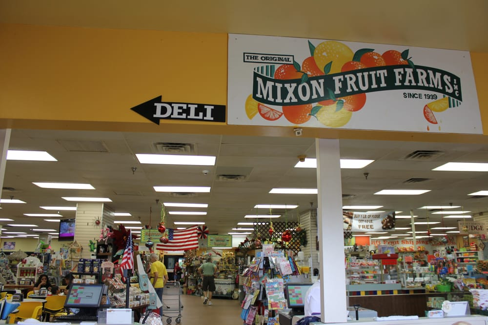 mixon fruit farms list of all fruits