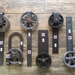 Photo Of Exquisite Hardware   Wall Township, NJ, United States. Barn Door  Wheels