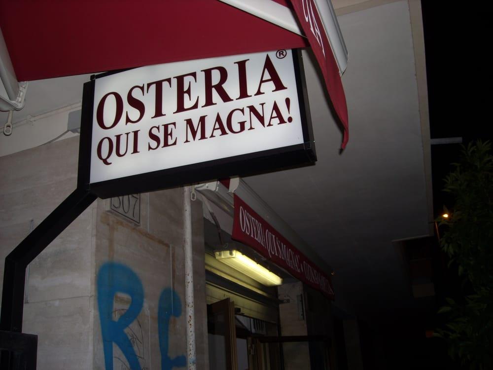 Osteria Qui Se Magna!