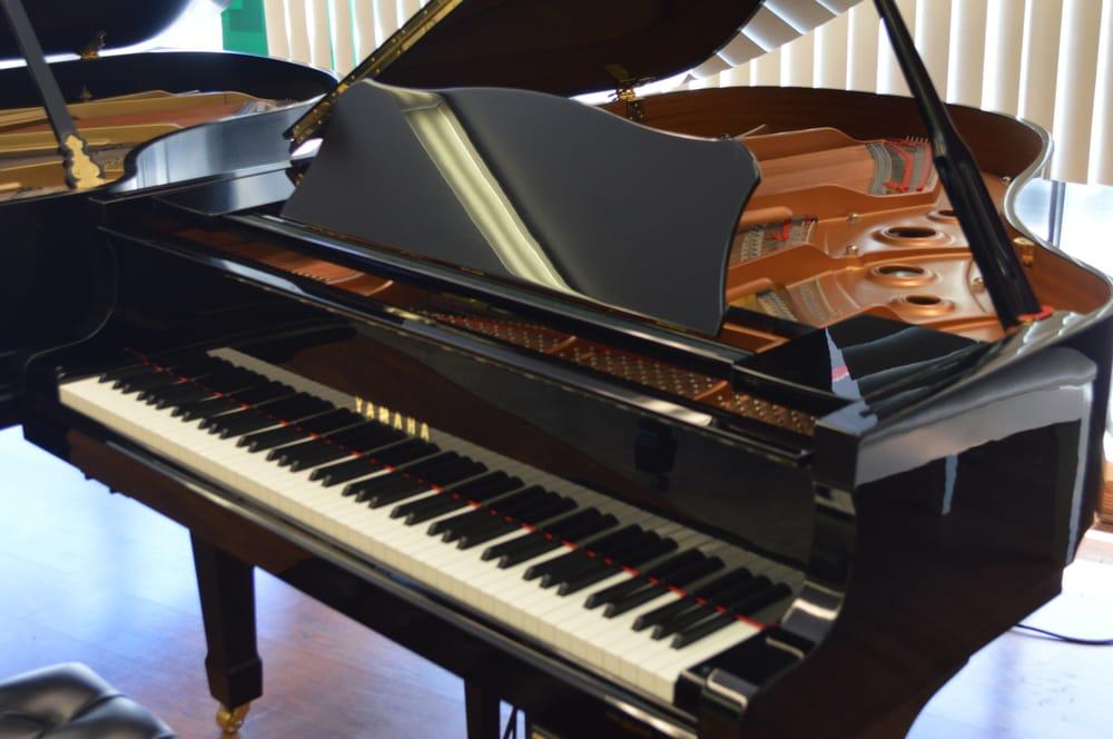 Yamaha c3 disklavier mark iii grand piano 6 39 1 ebony for Yamaha disklavier grand piano