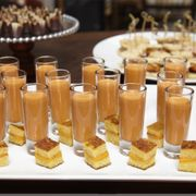 Photo of Straw - San Francisco, CA, US. Mini tomato soup shooters and grilled cheese bites from our event catering menu. Make a reservation.