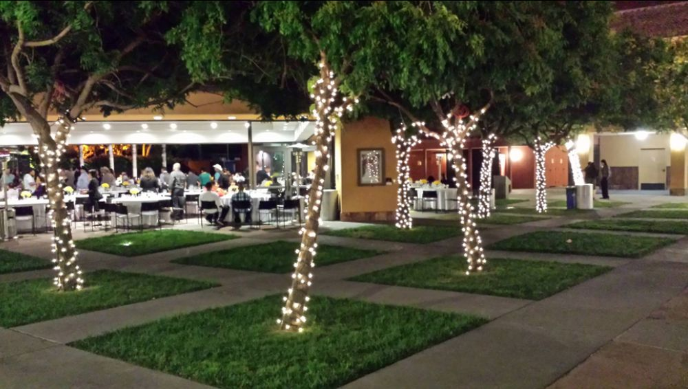 Photo Of Bwiebe Events Santa Clara Ca United States String Lighted Trees