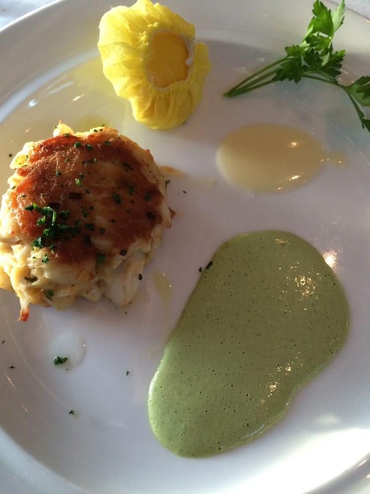 Crab cake delicious yelp for Passion fish reston va