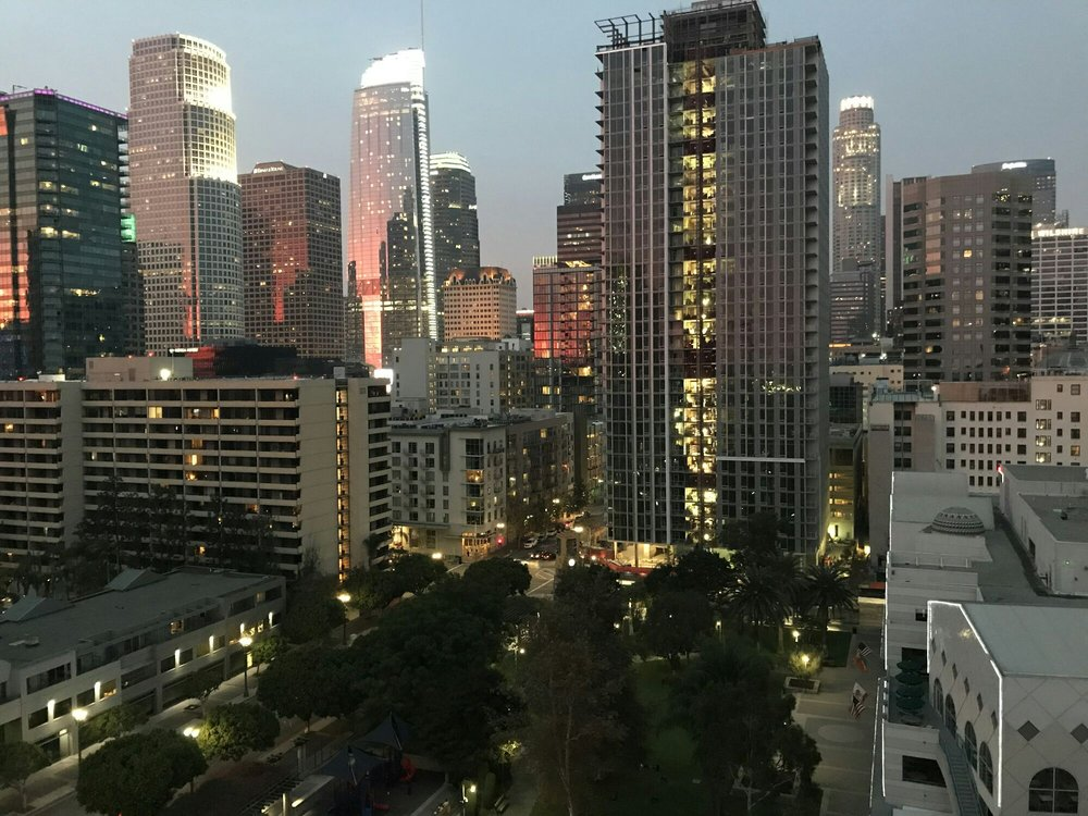 Apartment view of Downtown Los Angeles. - Yelp