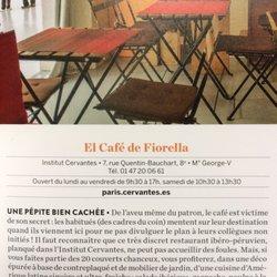 El Caf Ef Bf Bd De Fiorella Restaurant  Paris