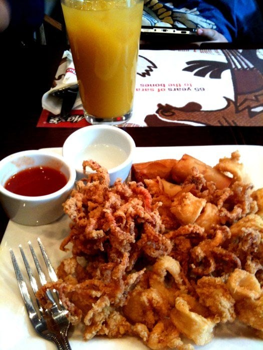 Fried Calamari Jersey City Restaurants
