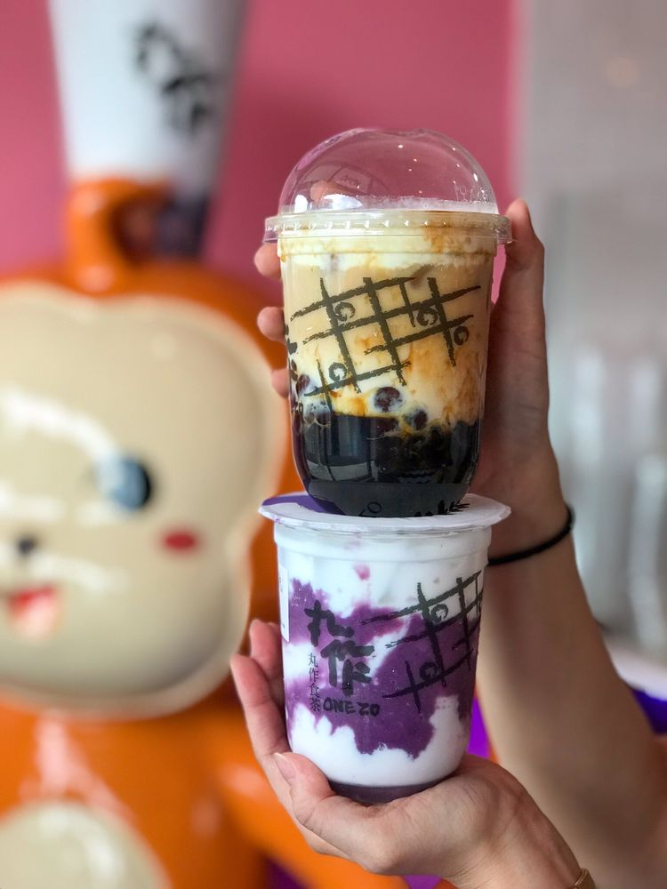 Food from One Zo Boba