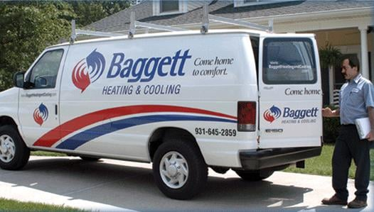 Baggett Heating and Cooling: 825 Main St, Clarksville, TN