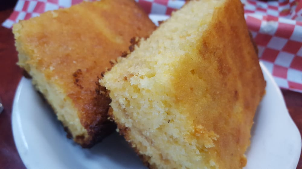 Photo of Firehouse Ribs & More - San Clemente, CA, United States. Corn bread