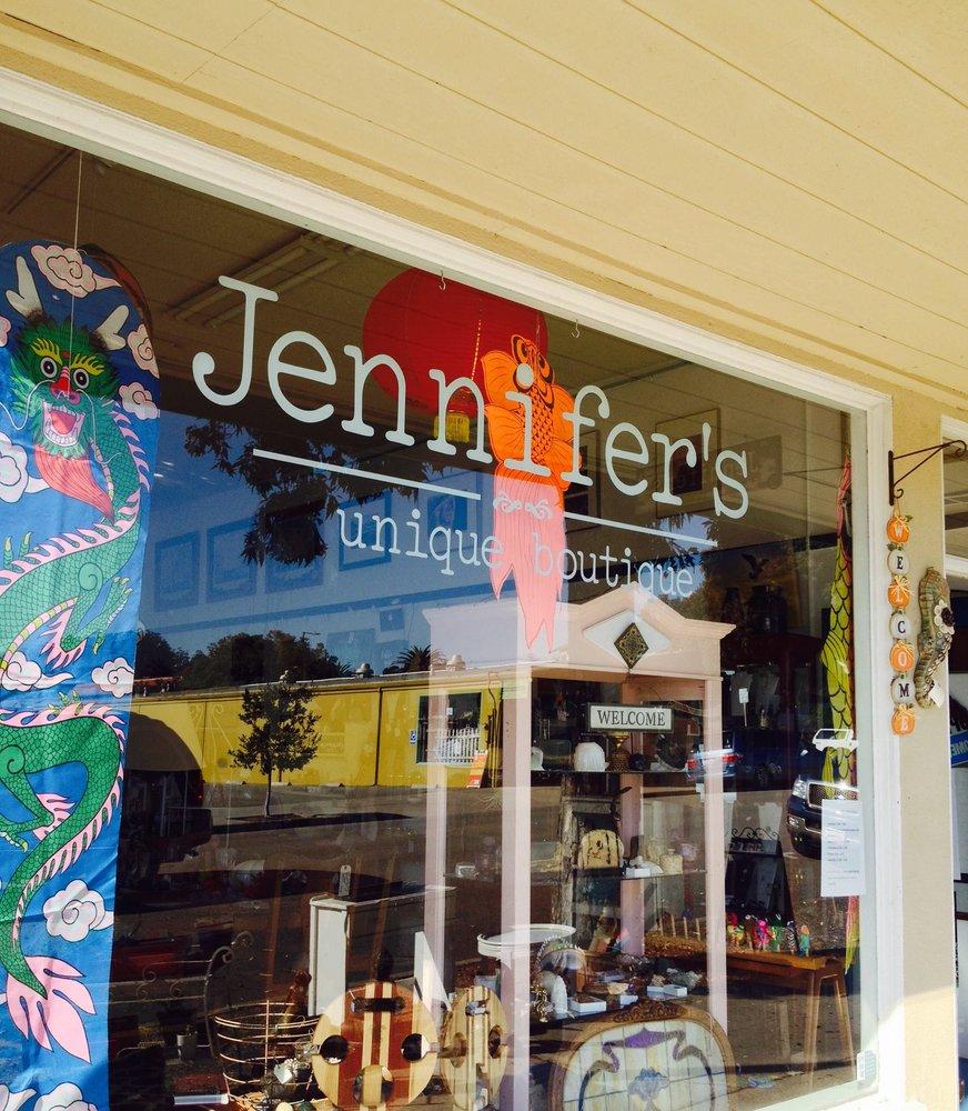 Jennifer's Unique Boutique: 36 N Ocean Ave, Cayucos, CA