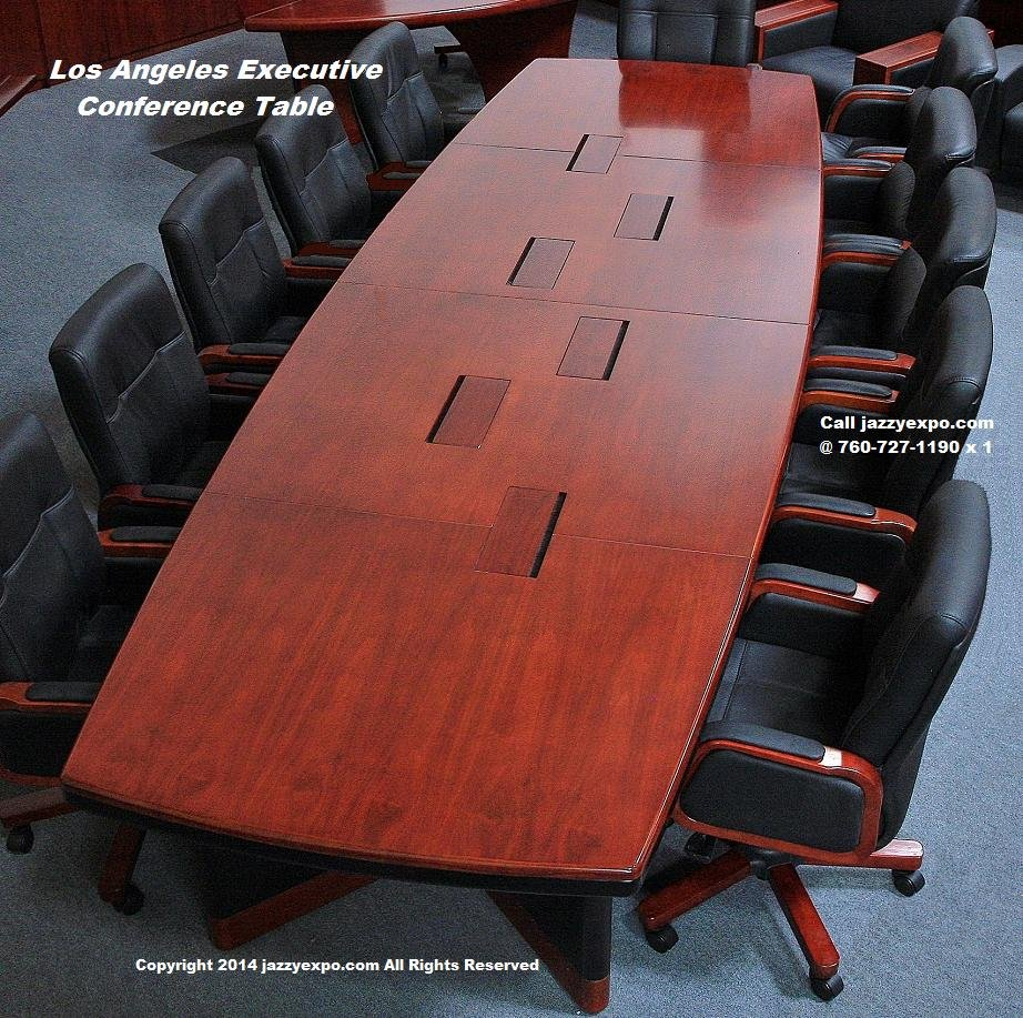 The Los Angeles Conference Table With Data Port Panels That Are - Executive office conference table