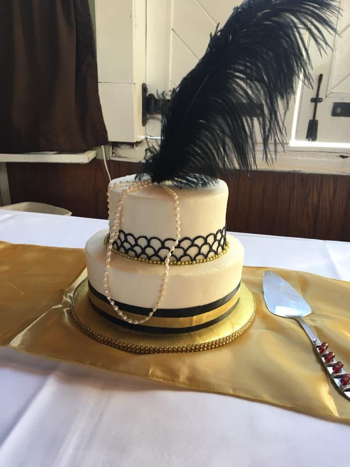 Great Gatsby Themed Cake For My Wifes 40th Birthday It Was