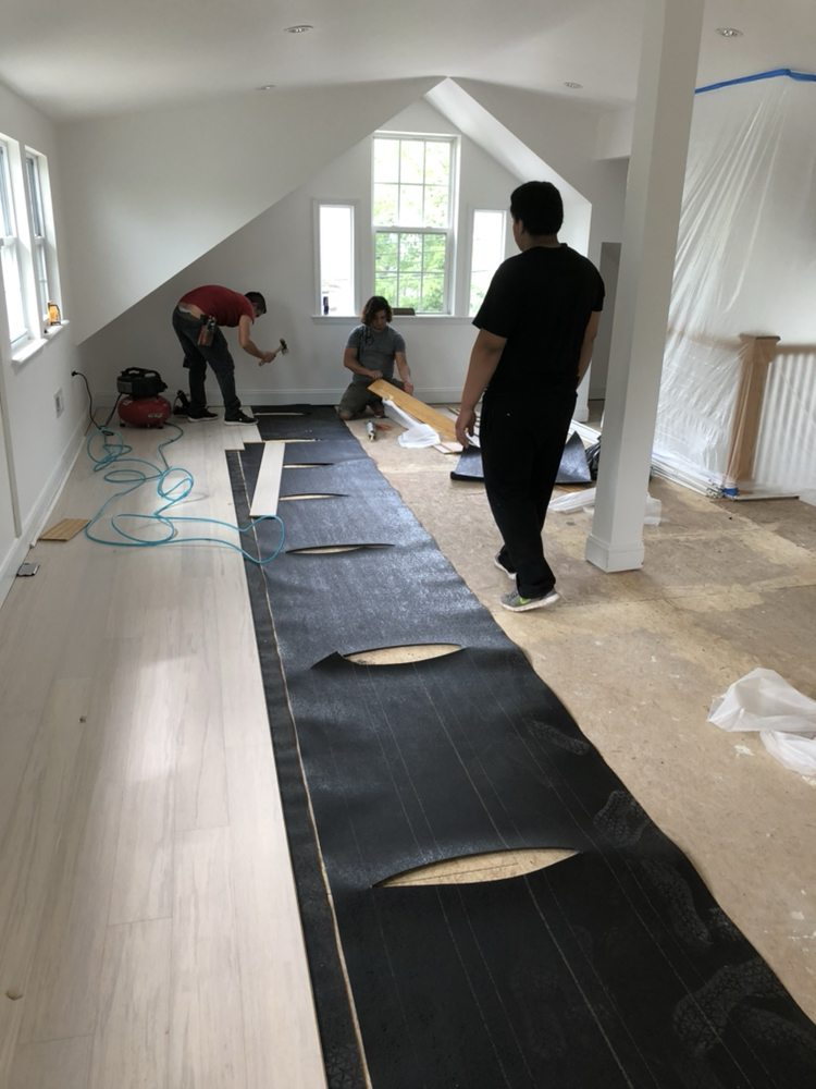 Photo Of Db Genesis Hardwood Flooring Silver Spring Md United States Glue