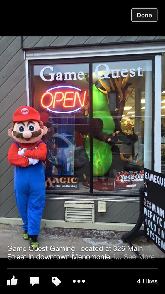 Game Quest: 326 Main St, Menomonie, WI