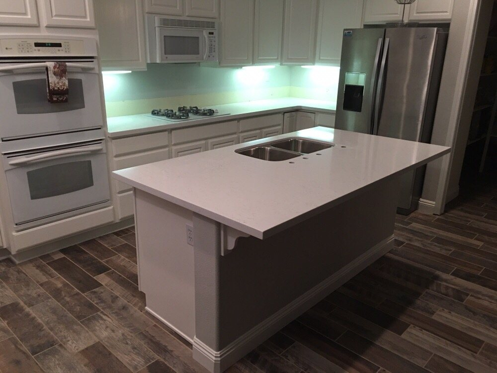 After Large Level Island Perfect For Serving And Entertaining Really Opened Up The Kitchen