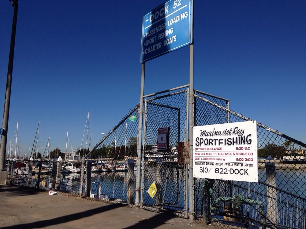 Dock 52 the place u meet up yelp for Marina del rey fishing report